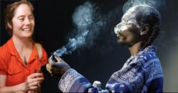 Jizzle Yizzle And Nizzle Shizzle Smoke Weed With Snoop Dogg At The Bowery