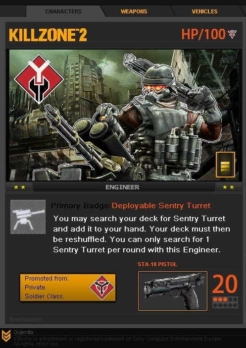 This Is The Killzone Card Game