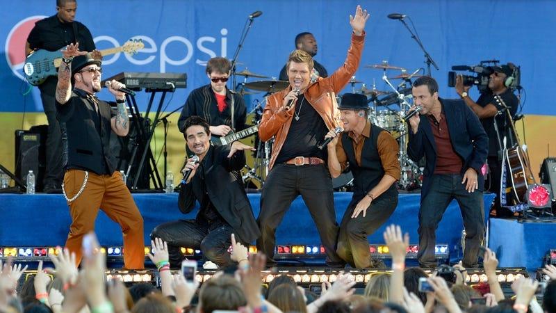 Backstreet Boys Now Backstreet Men