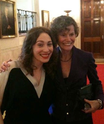 Judy Blume And Regina Spektor Become BFFs At White House
