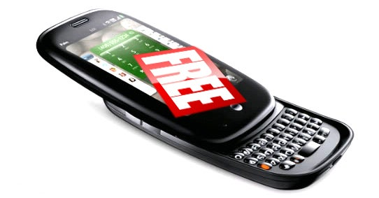 Get a Free Palm Pre Plus a Six Month Data Plan If You Pass the Test