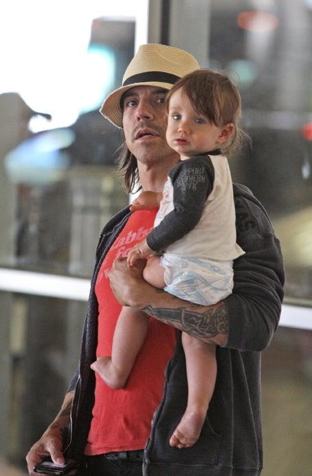 Anthony Kiedis & His Little Chili Pepper
