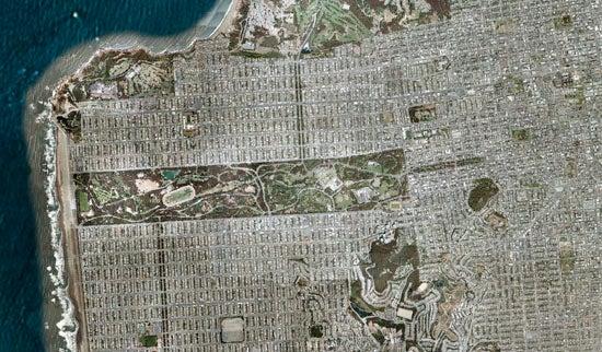Google Maps of Sci-Fi