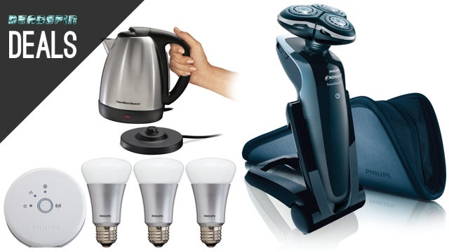 Deals: Top Shelf Electric Shaver, A Brain for Your House, Philips Hue