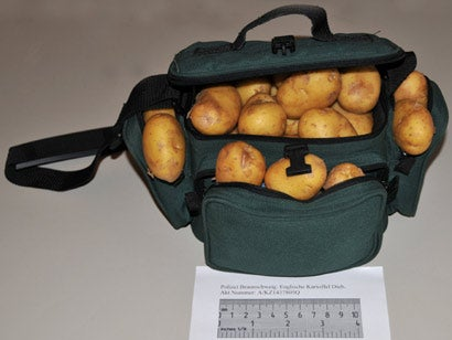 "German Bargain Hunters Conned Into Buying Bag of ""Potato iPods"""