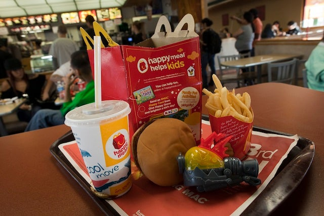 McDonald's Makes Happy Meals Slightly Less-Deadly