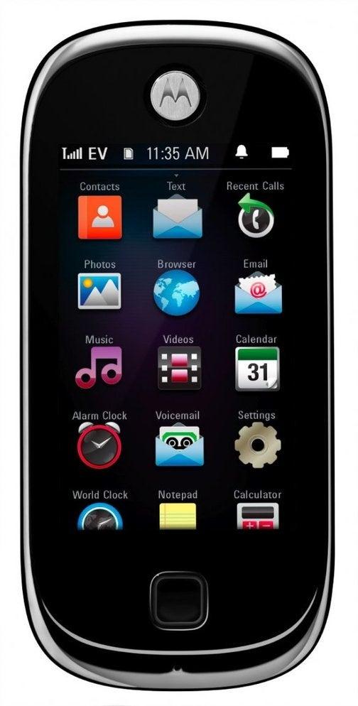 Motorola Evoke QA4 Looks Like the Bastard Son of the iPhone and Pre