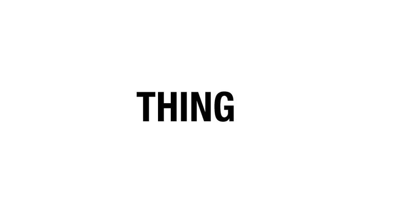 10 Things About Things About Things