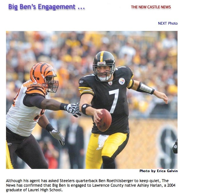 Big Ben Engagement Confirmed By Impressively Labyrinthine Newspaper Site