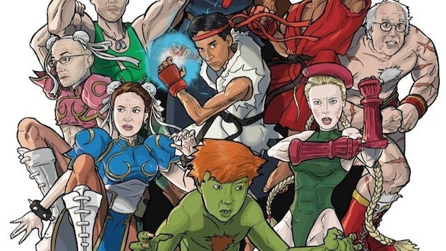 The Cast of Community Goes All Street Fighter