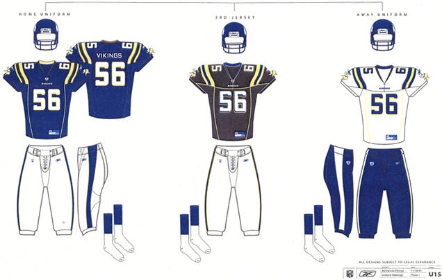 The Vikings Once Considered Black Uniforms