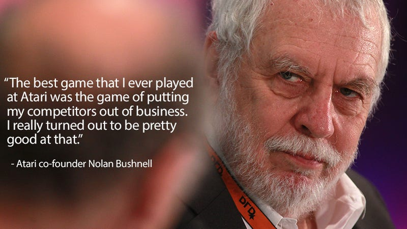 Atari Founder's Favourite Game Was Kicking Competitor's Asses