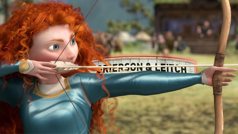 Pixar Isn't Even Trying. Brave, Reviewed.