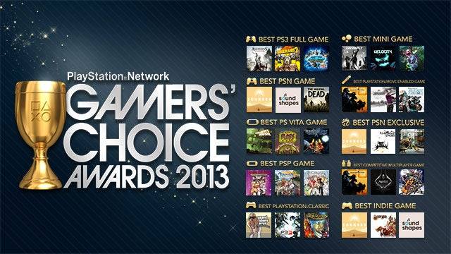 Sony Entertainment Network Gamers' Choice Awards Sale Offers Up To 50% Off the Best Games of 2012