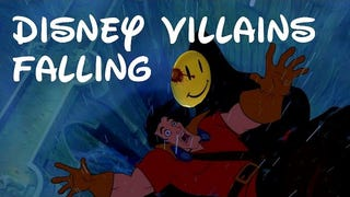 Disney's Favorite Kind of Death: A Supercut of Animated Villains Falling