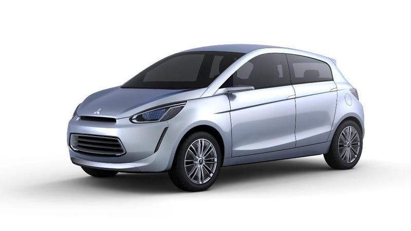Mitsubishi's Concept Global Small: Boring Car Tiny