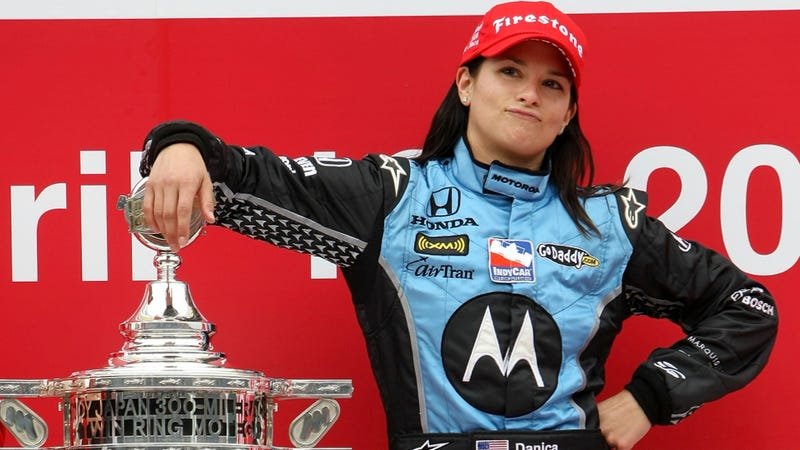 Danica Patrick Is 'Not A Race Car Driver'