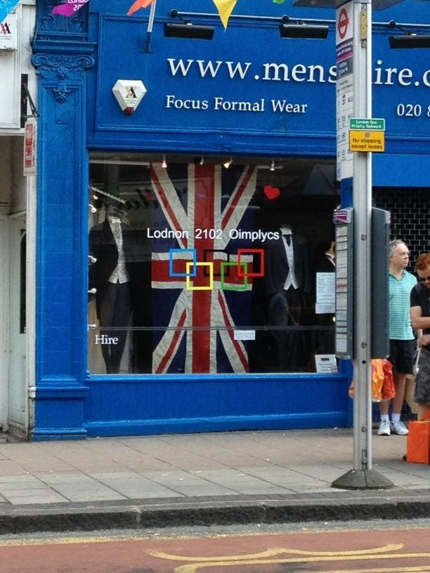Cheeky British Shopkeeper Cheekily Flouts Draconian Olympics Branding Rules