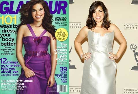 America Ferrera's 'Glamour' Treatment, Revisited