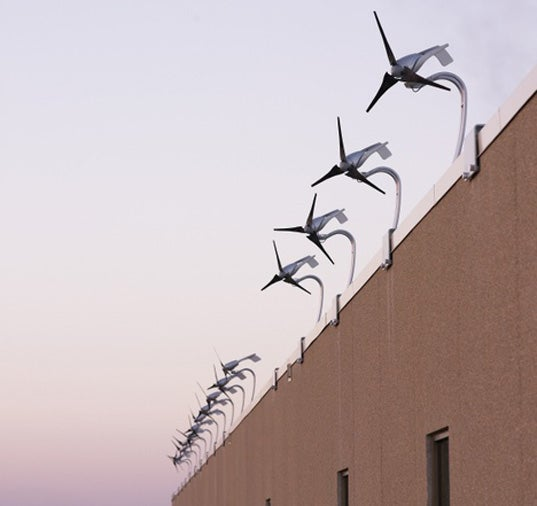 Modular Turbines Let Buildings Generate Own Power, Liquefy Own Birds