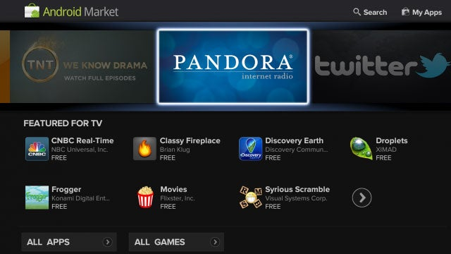Google TV Updates on Sunday, Adds Android Market and TV-Friendly Apps, Sports a Nicer Look