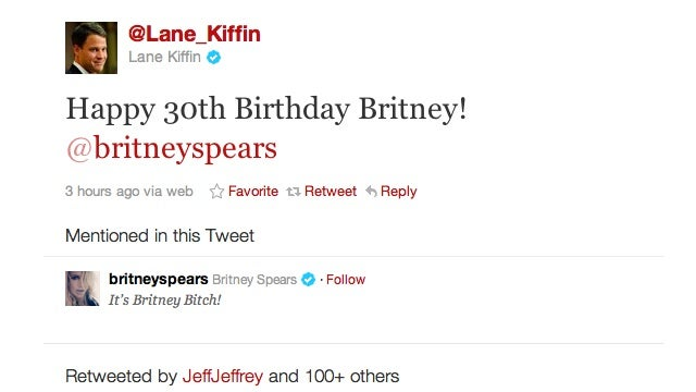 Lane Kiffin Tweeted A Happy Birthday Wish To Britney Spears