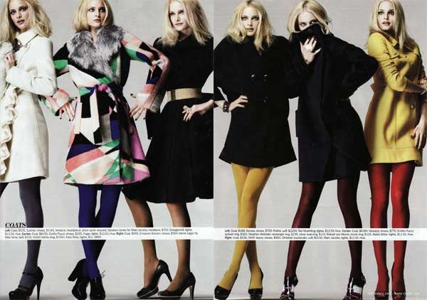 September Marie Claire: Some Say Fashion, It Is A Hunger, An Endless Aching Need