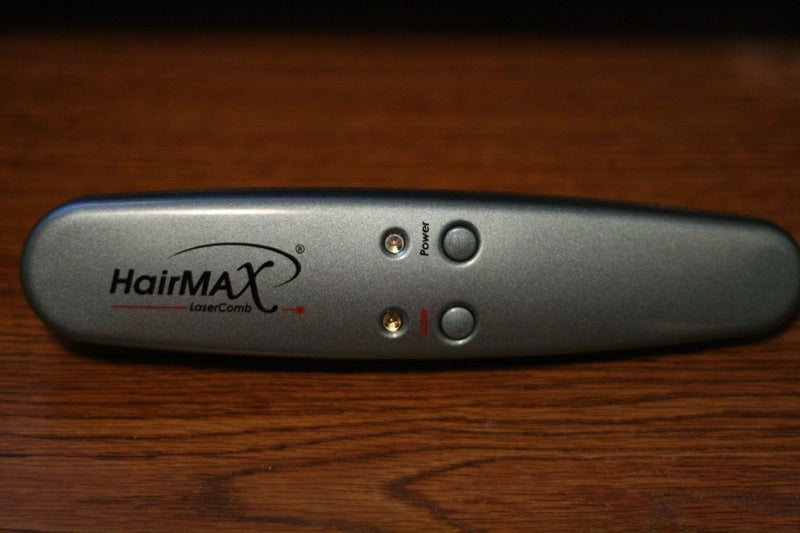 Hands On with the HairMax Laser Comb
