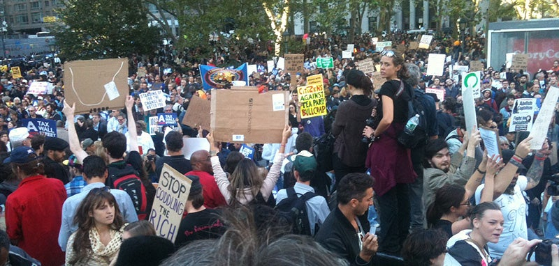 Live From the Occupy Wall Street March