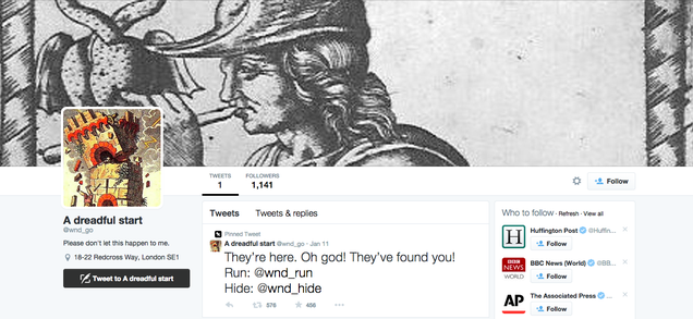 I Played This Twitter-Based Choose Your Own Adventure and Died a Lot