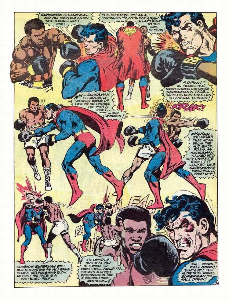 The Greatest Comic Book Of 'Em All: Superman Vs. Muhammad Ali