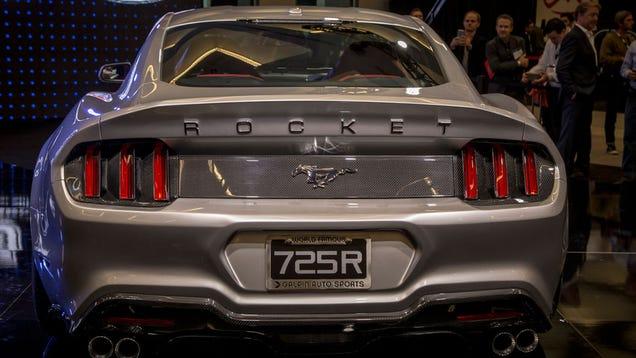 El Nuevo Mustang Una Bestia De 725cv Y Fibra De Carbono