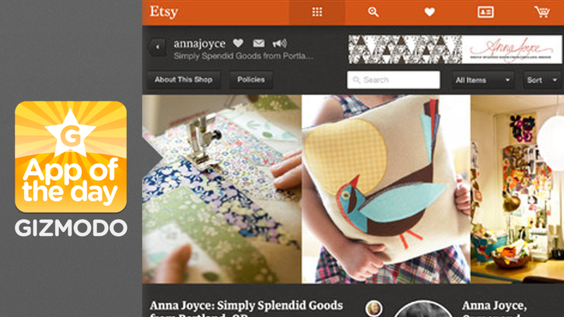 Etsy for iPad: The Homemade Hipster Haven Goes Tablet