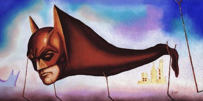 Batman gets a Surrealist makeover as Salvador Dali's monstrous Sleep