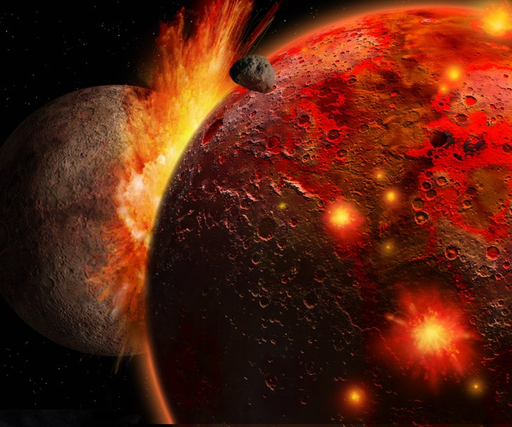 New evidence that the Moon's explosive birth was weirder than we thought