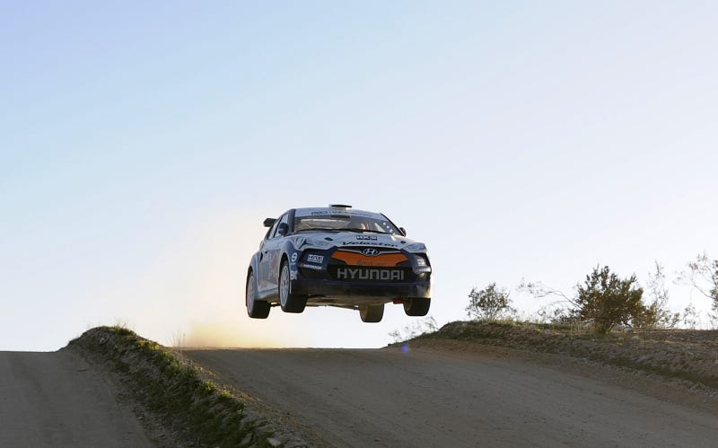 Hyundai Veloster Rally Car leaps into reality