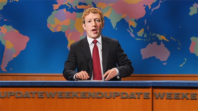 Mark Zuckerberg to Appear on Saturday Night Live?