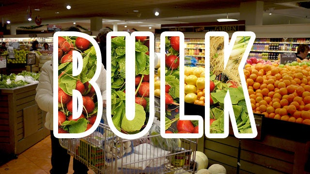 Buying in Bulk at the Grocery Store Doesn't Always Save You Money
