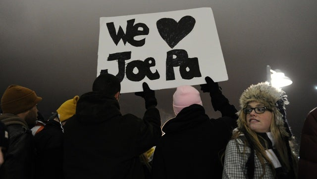 By Dying, Joe Paterno Is Still Protecting Penn State