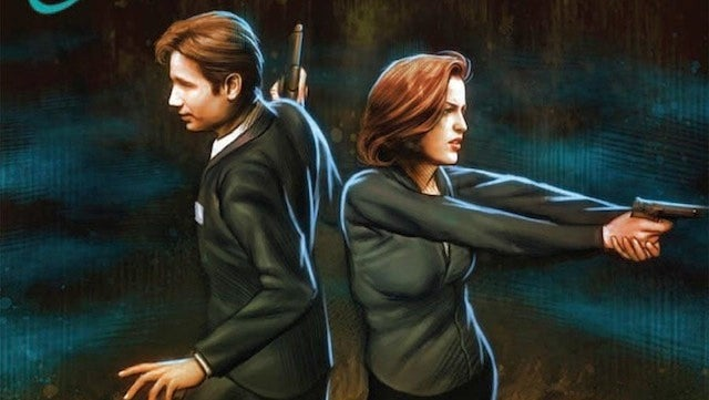Mulder and Scully return to solve the mystery of This Week's Comics!