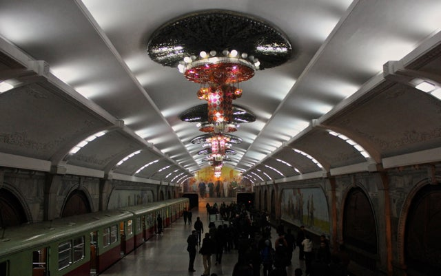 North Korean subway system