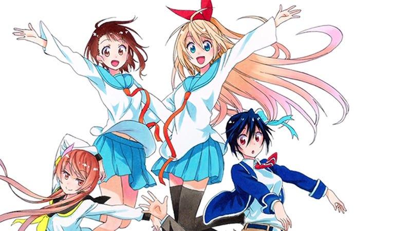 Nisekoi is the Epitome of a Cliché Rom-Com Anime