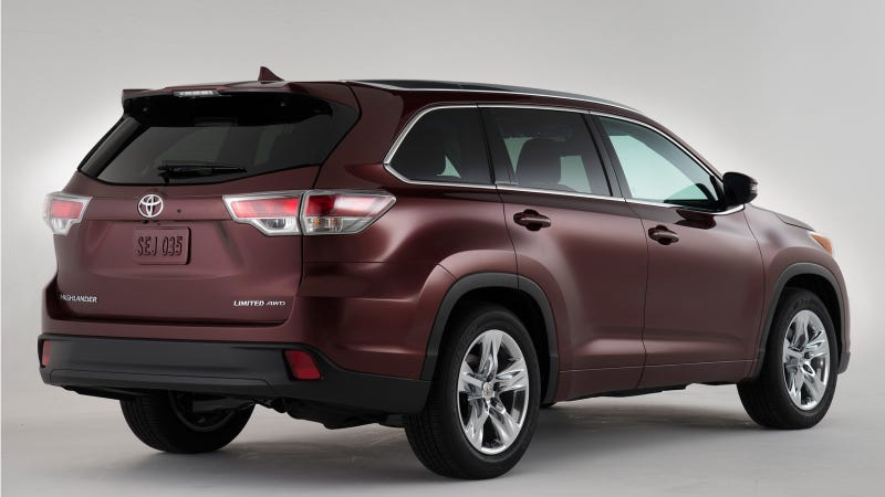 The 2014 Toyota Highlander Has No Rival, No SUV Can Be Its Equal