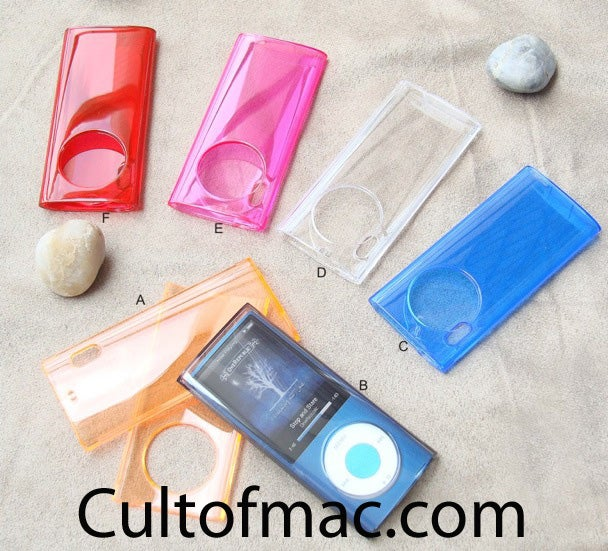New iPod Touch and iPod Nano Cameras Uncovered