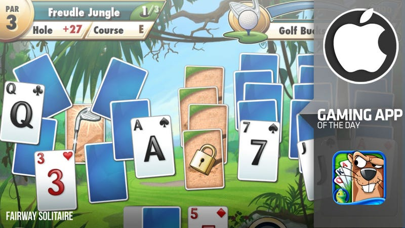 Trust Me. Fairway Solitaire Is an iPhone Solitaire Game You Should Play.