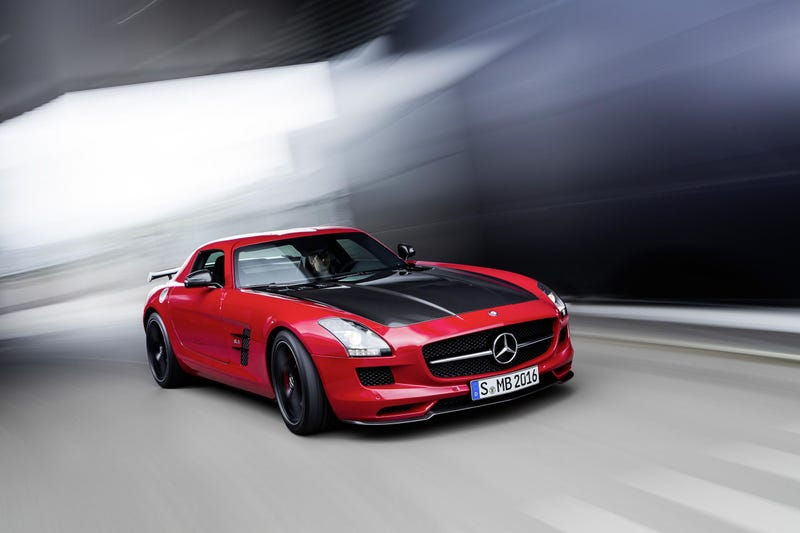 Take A Closer Look At Mercedes SLS AMG GT Final Edition