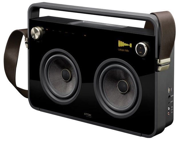 TDK's New Boomboxes Put Their Speakers Where You Can See 'Em
