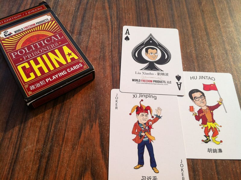 Telling the World About China's Dissidents, One Playing Card at a Time