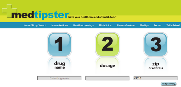 Medtipster Finds You the Cheapest Prescription