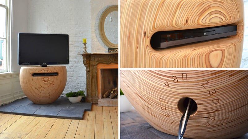 Vase-Shaped Stand Lets Your TV Blossom